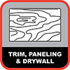 Trim, Paneling, Drywall