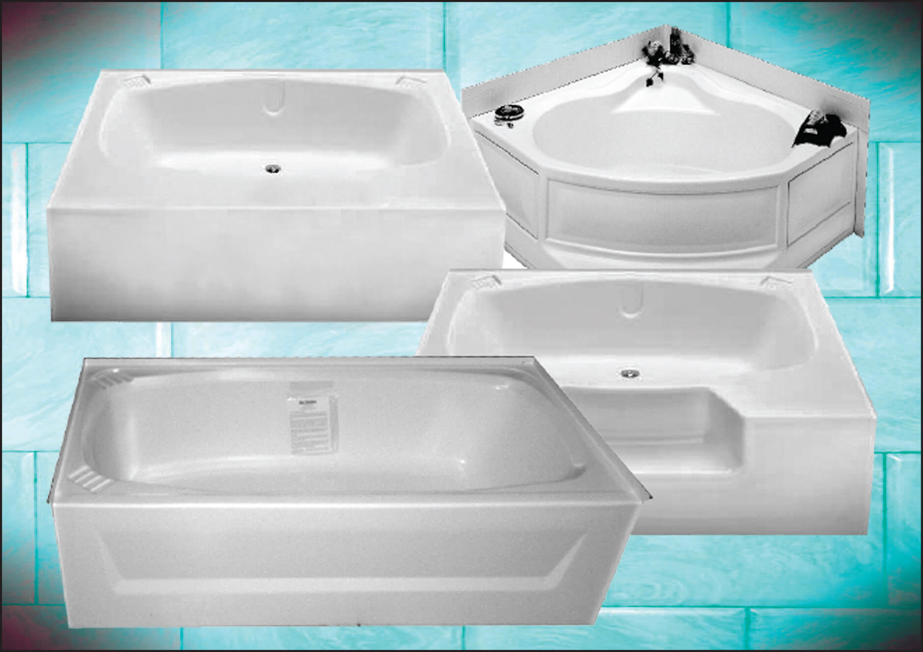ABS Tubs & Surrounds