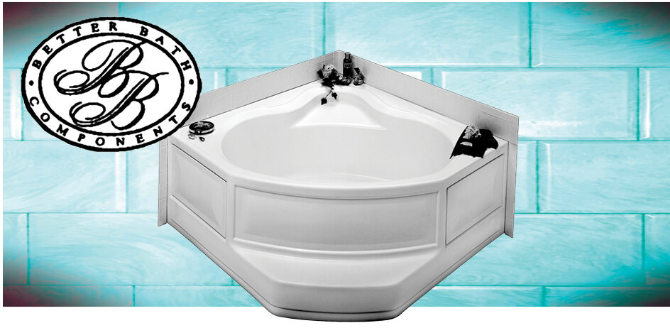ABS Corner Garden Tub - | CAPITOL SUPPLY AND SERVICE